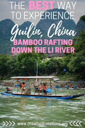Li River Bamboo Raft | Guilin | Li River | Xingping | China Travel | Things To Do in Guilin | Bamboo Raft