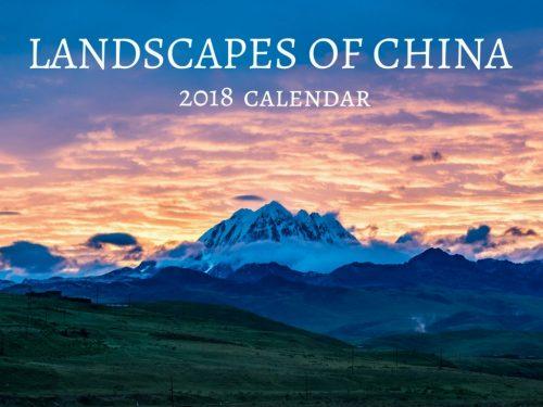 Landscapes of China 2018 Wall Calendar