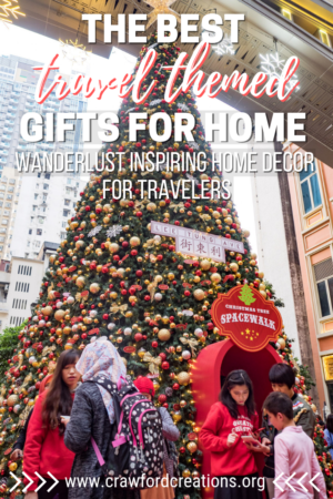 Travel Home Decor   Travel Gifts   Travel Themed Home Decorations   Travel Inspired Gifts   Travel Themed Holiday Gift Guide   Travel Gift Guide   Gift Ideas For Travel Lovers   Gift Ideas For Travelers