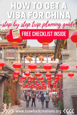 China Visa | China Travel | China Visa Guide | China Trip Plan | China Travel Guide | China Travel Checklist | China Visa Checklist | China Travel Plan | China Visa Instructions | How To Travel To China